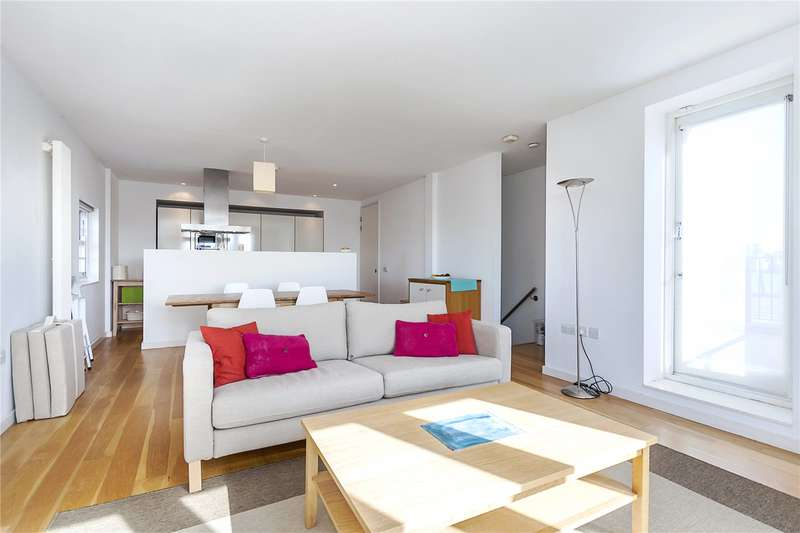 2 Bedrooms Flat for sale in Main Mill, Mumford Mills, Greenwich High Road, London, SE10