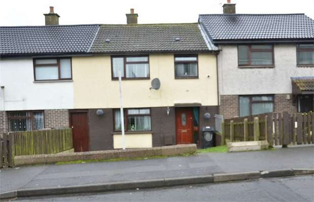 3 Bedrooms Terraced House for sale in Fairway, Larne, County Antrim