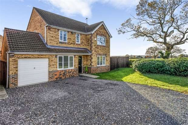 4 Bedrooms Detached House for sale in Chaucer Drive, Crook, Durham