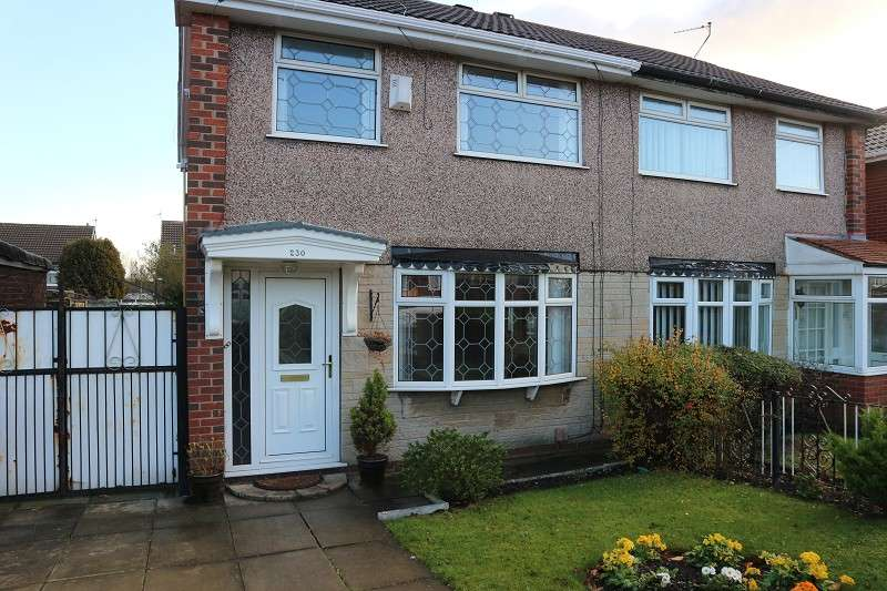 3 Bedrooms Semi Detached House for sale in Mackets Lane, Liverpool, Merseyside. L25 9NH