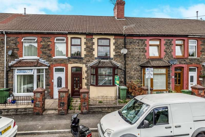 4 Bedrooms Terraced House for sale in Woodland Terrace, Maesycoed, Pontypridd