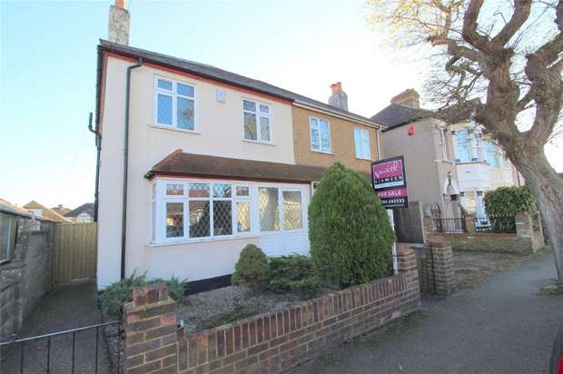 3 Bedrooms Semi Detached House for sale in Warwick Road, Ashford, Middlesex