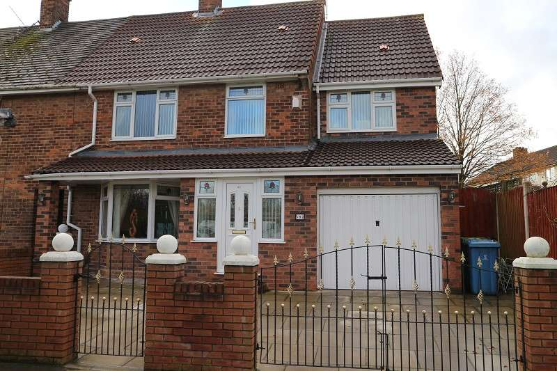 3 Bedrooms End Of Terrace House for sale in Alderfield Drive, Liverpool, Merseyside. L24 6SX
