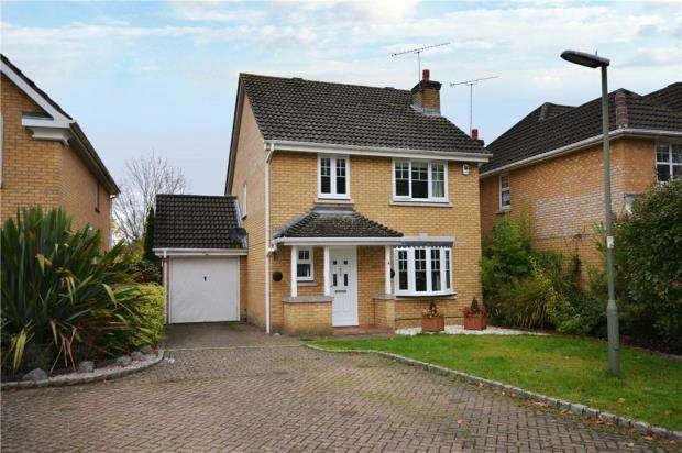 4 Bedrooms Detached House for sale in Hanson Close, Camberley, Surrey