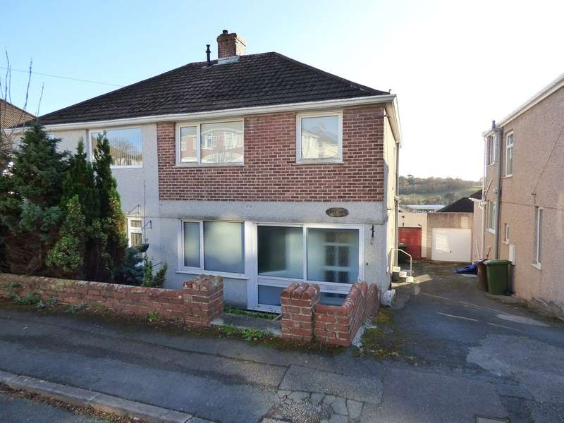 3 Bedrooms Semi Detached House for sale in The Knoll, Woodford, Plympton