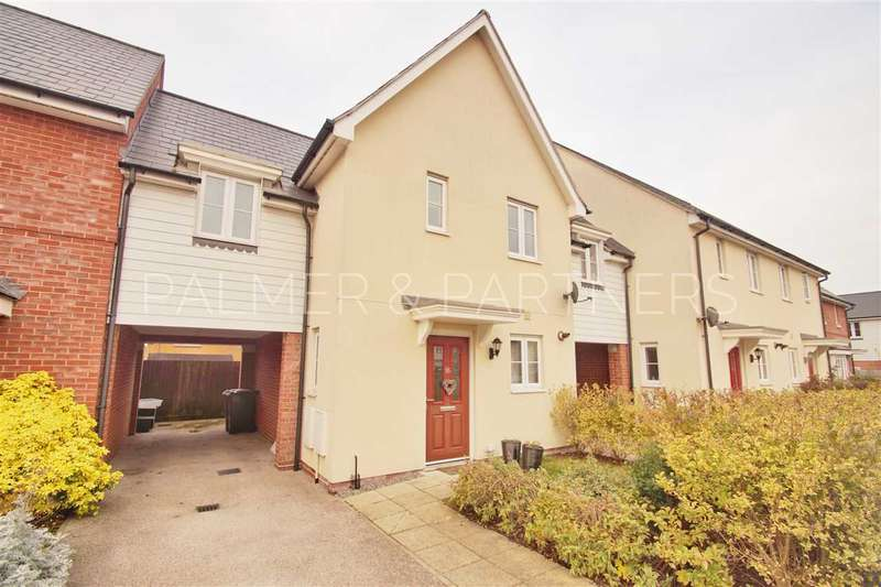 3 Bedrooms Link Detached House for sale in Corunna Drive, Colchester