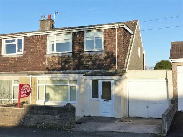 3 Bedrooms Semi Detached House for sale in Maes Glas, Cefn Cribwr, Bridgend, Mid Glamorgan