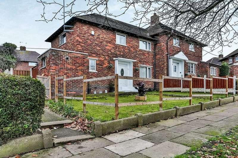 2 Bedrooms Semi Detached House for sale in Stradbroke Drive, SHEFFIELD, S13