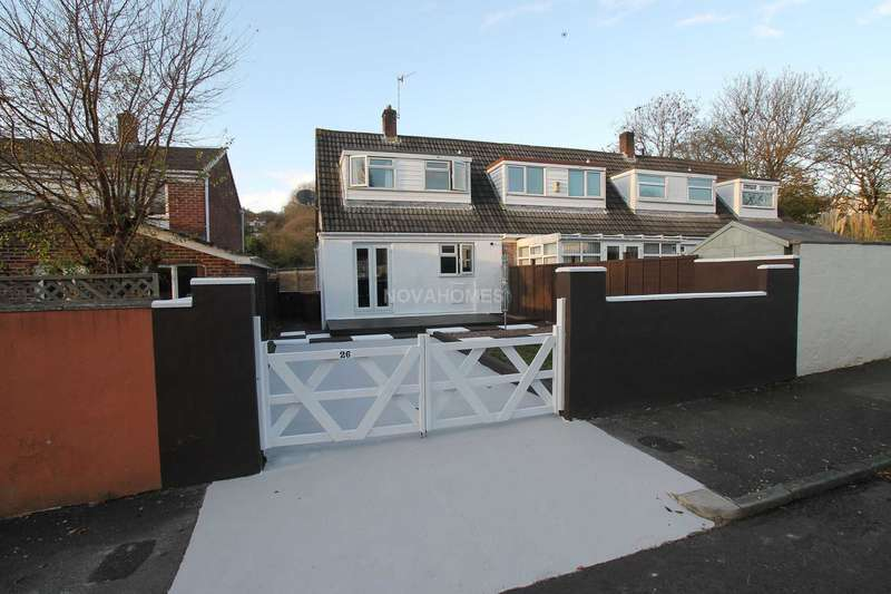 2 Bedrooms Semi Detached House for sale in Alden Walk, Eggbuckland, Plymouth, PL6 5RY