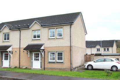 3 Bedrooms Semi Detached House for sale in Mill Court, Newmilns