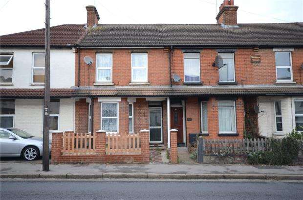 3 Bedrooms Terraced House for sale in Ash Road, Aldershot, Hampshire