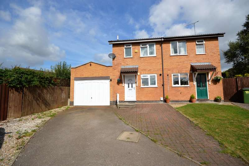 2 Bedrooms Semi Detached House for rent in Tiverton Close, Narborough, Leicester, LE19 3YS