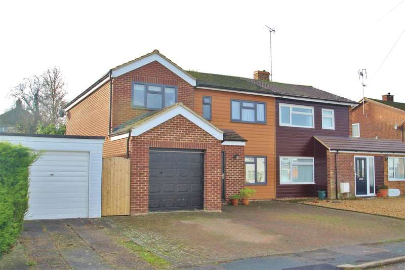 4 Bedrooms Semi Detached House for sale in Portfield Close, Buckingham