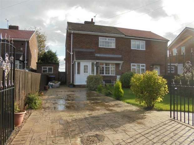 2 Bedrooms Semi Detached House for sale in Charters Crescent, South Hetton, Durham