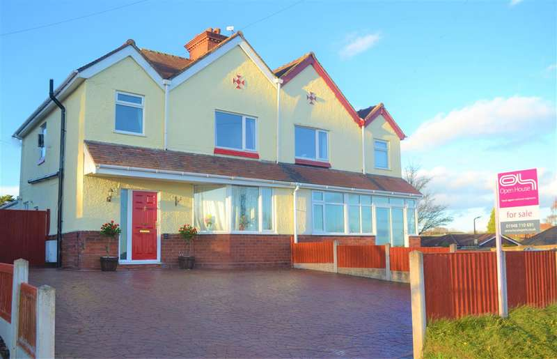 3 Bedrooms Semi Detached House for sale in Rosern, Chester Road, Malpas