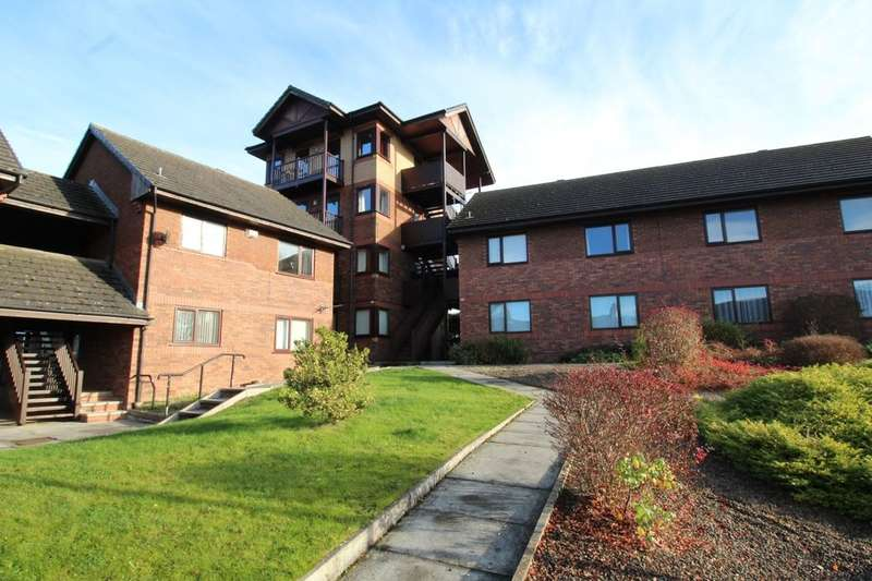 2 Bedrooms Flat for sale in Maryport Court, Carlisle, CA2