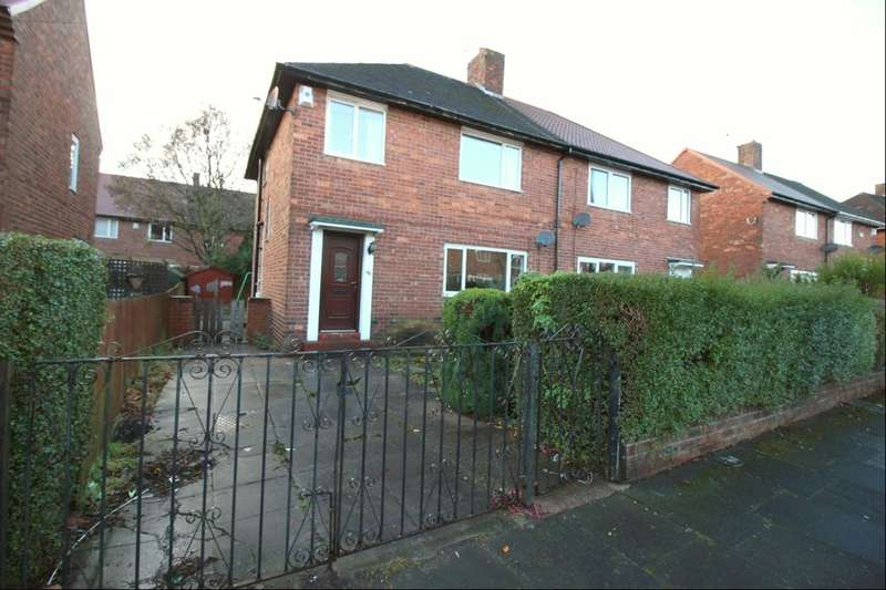 4 Bedrooms Semi Detached House for sale in Strawberry Gardens, Wallsend, NE28