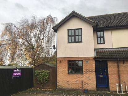 2 Bedrooms End Of Terrace House for sale in Charlotte Walk, Spalding, Lincs, England