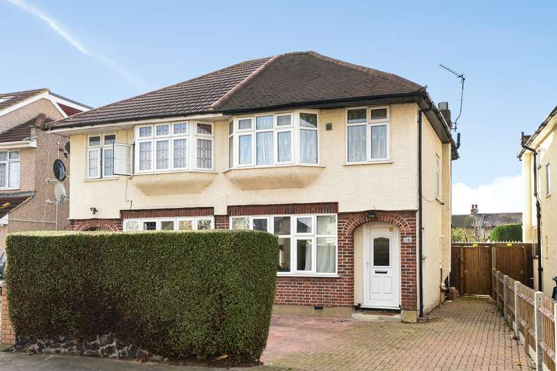 3 Bedrooms Semi Detached House for sale in Brainton Avenue, Feltham, TW14