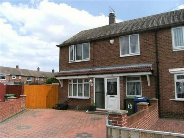 3 Bedrooms Semi Detached House for sale in Renoir Gardens, South Shields, Tyne and Wear