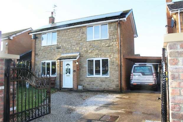 3 Bedrooms Detached House for sale in Richardson Court, Hambleton, Selby, North Yorkshire