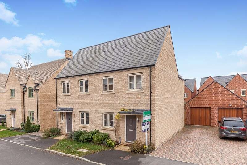 3 Bedrooms Semi Detached House for sale in Eagle Drive, Upper Rissington, Cheltenham