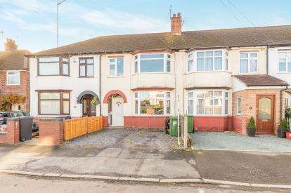 3 Bedrooms Terraced House for sale in Hanworth Road, Warwick, Warwickshire, .