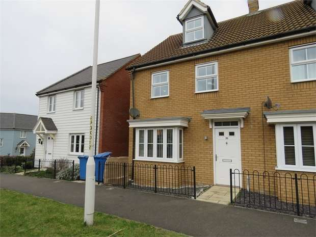 3 Bedrooms End Of Terrace House for sale in Plover Road, Minster on Sea, SHEERNESS, Kent