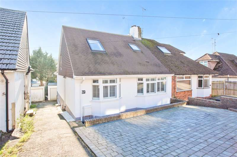 4 Bedrooms Semi Detached House for sale in Dale Crescent, Brighton, East Sussex, BN1