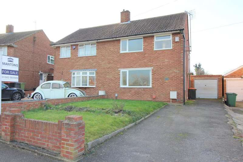 3 Bedrooms Semi Detached House for sale in Hastings Road, Barton Le Clay, Bedfordshire, MK45 4NJ