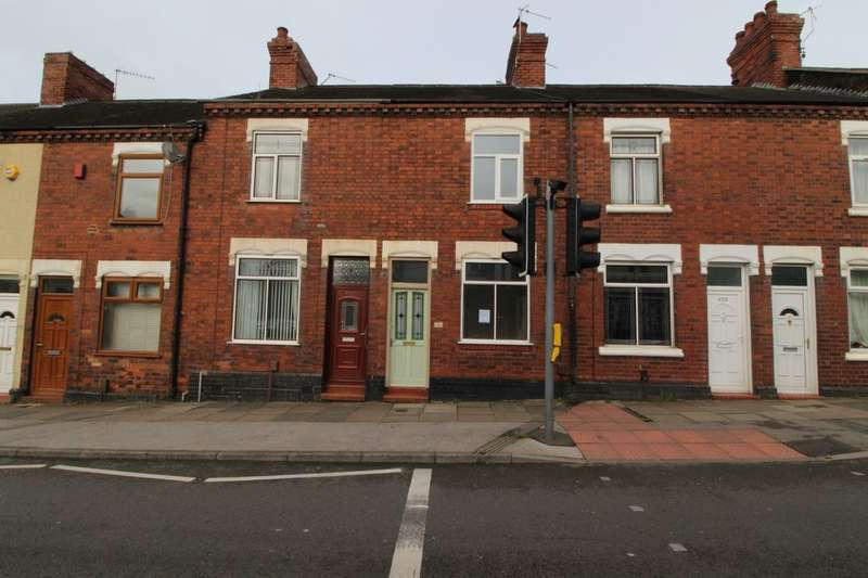 2 Bedrooms Terraced House for sale in Hartshill Road, Stoke-On-Trent, ST4