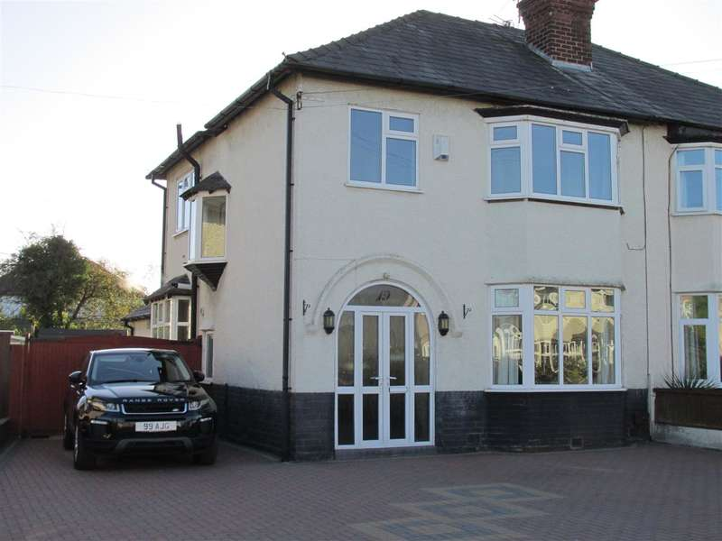 4 Bedrooms Semi Detached House for sale in Fairacres Road, Bebington