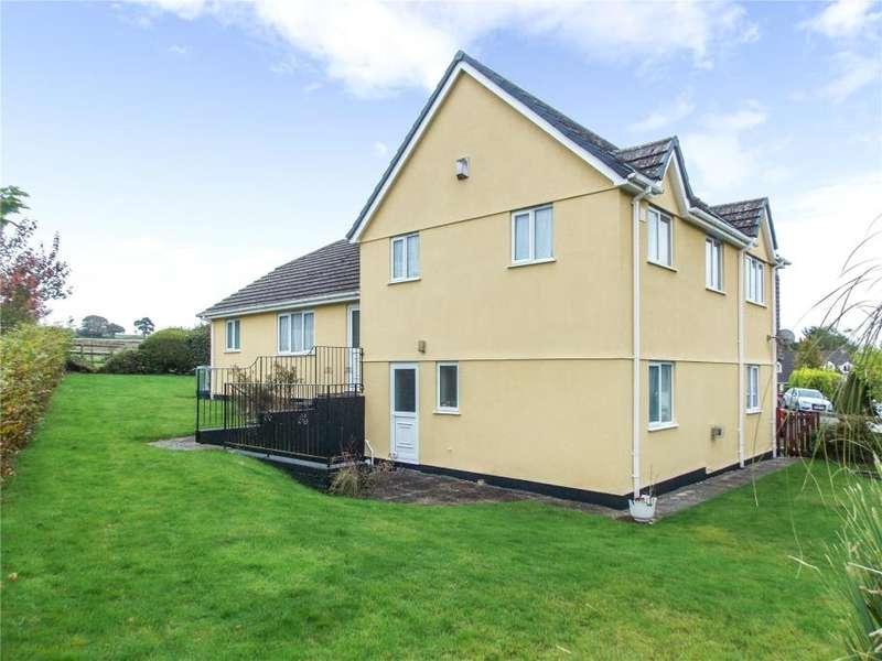 4 Bedrooms Detached House for sale in Milltown Gardens, Yeolmbridge, Launceston