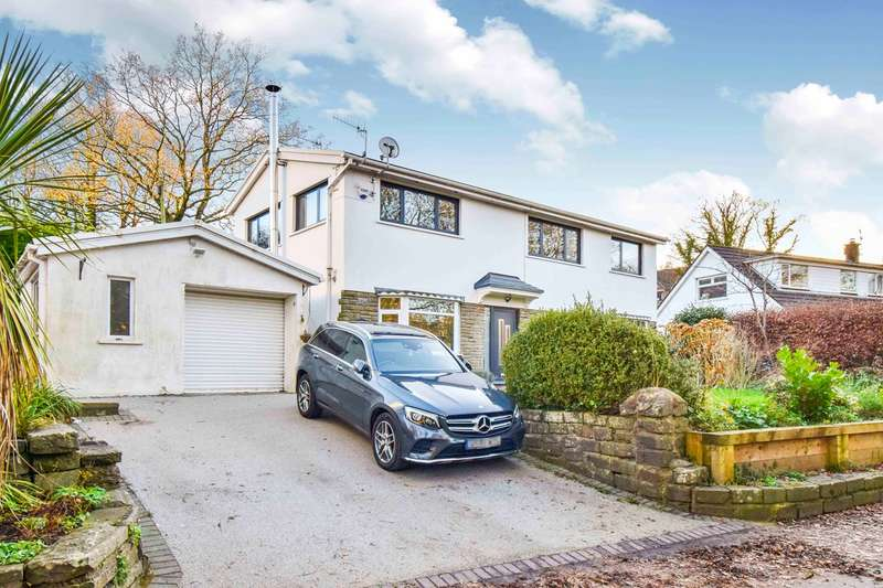 4 Bedrooms Detached House for sale in Green Row, Machen, Caerphilly, CF83