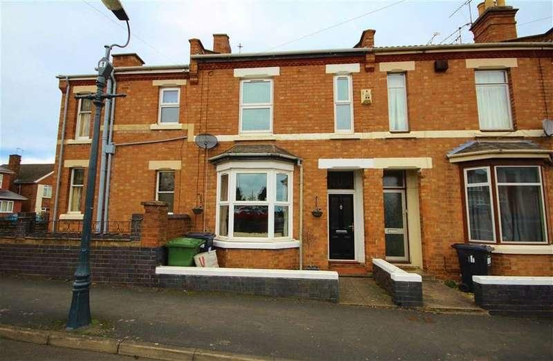 3 Bedrooms Terraced House for sale in Llewellyn Road, Leamington Spa, Warwickshire, CV31