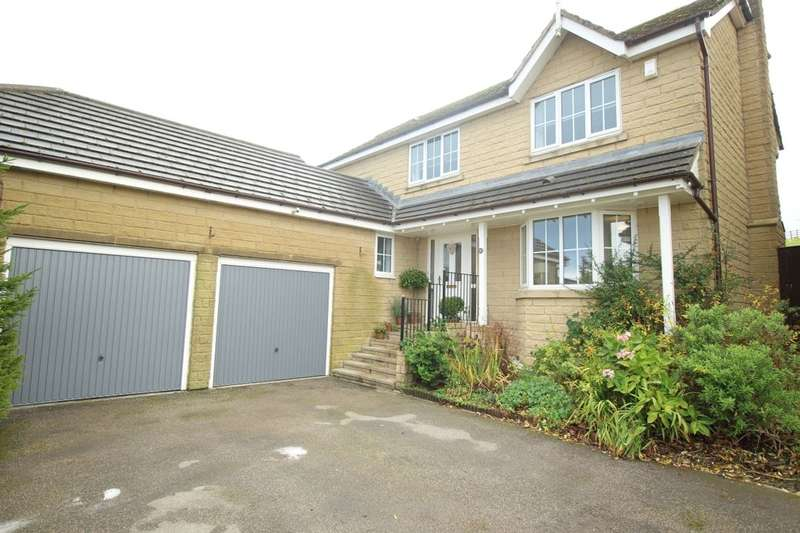 4 Bedrooms Detached House for sale in Steadings Way, Keighley, BD22