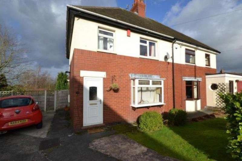 3 Bedrooms Semi Detached House for rent in Jubilee Road, Congleton, CW12