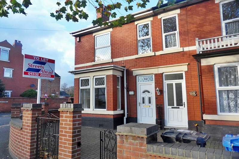 3 Bedrooms Semi Detached House for rent in Stenson Road, Derby
