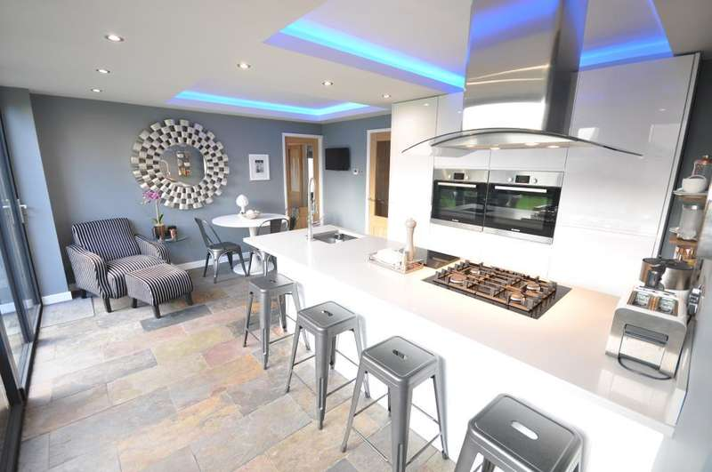 4 Bedrooms Detached Bungalow for sale in Lightfoot Lane, Fulwood, Preston, Lancashire, PR2 3LU