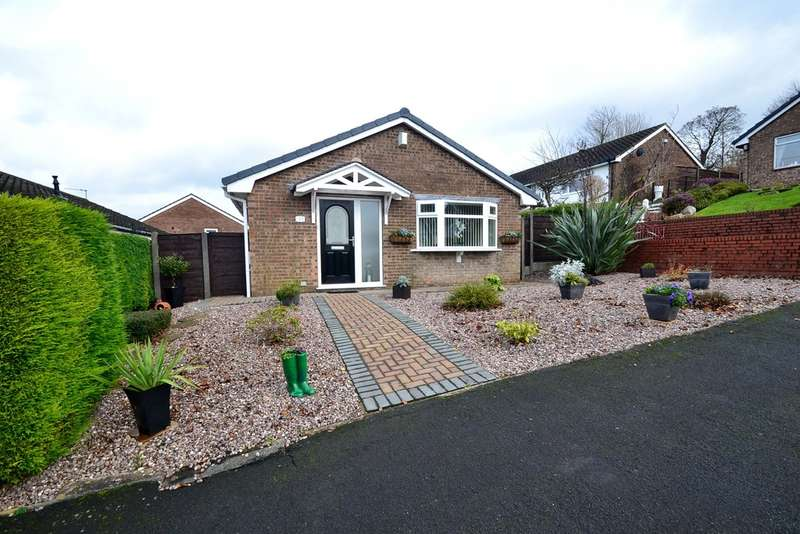 2 Bedrooms Detached Bungalow for sale in Elmley Close, Offerton, Stockport SK2 5XE