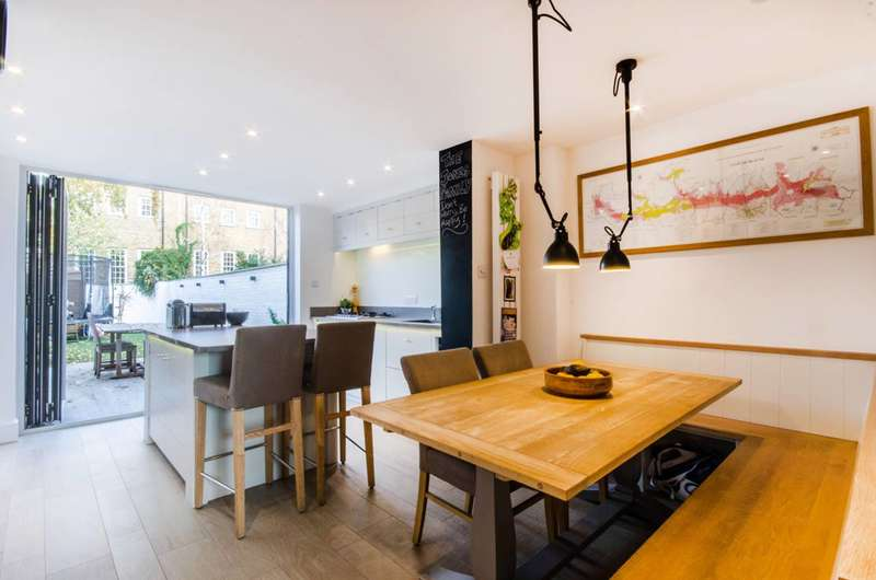 4 Bedrooms Terraced House for sale in Park Row, Greenwich, SE10