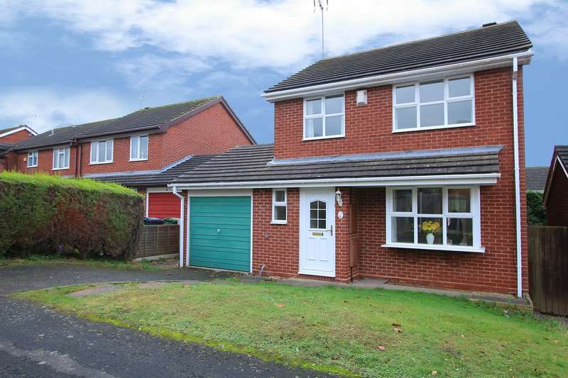 3 Bedrooms Detached House for sale in Shearwater Close, Kidderminster, DY10