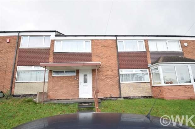 3 Bedrooms Terraced House for sale in Rydding Square, WEST BROMWICH, West Midlands
