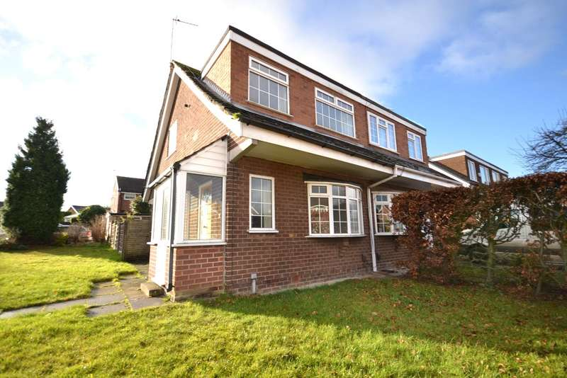 3 Bedrooms Semi Detached House for sale in Newlyn Avenue, Macclesfield