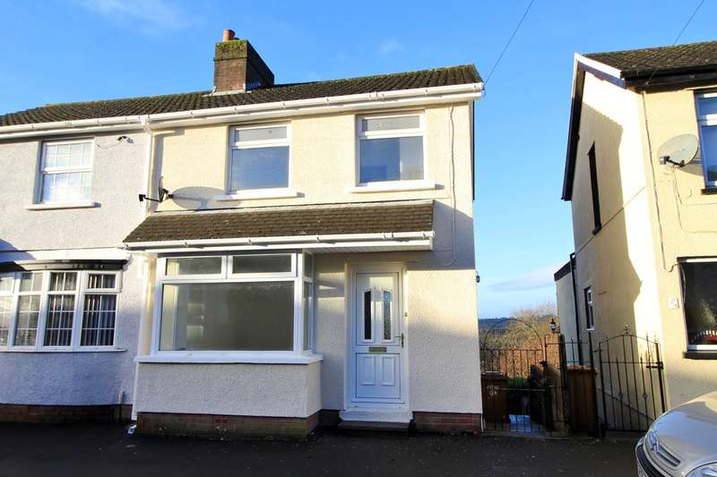 2 Bedrooms Semi Detached House for sale in Pencoed Avenue, Cefn Fforest, Blackwood, NP12