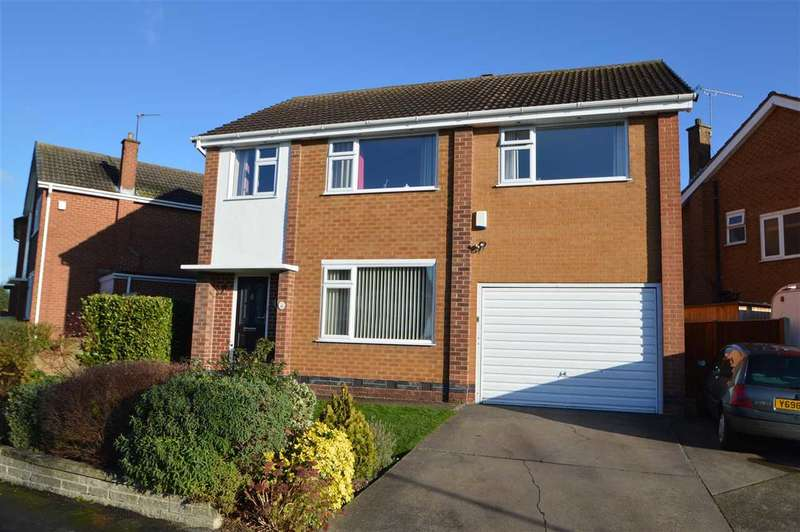 4 Bedrooms Detached House for sale in Crossdale Drive, Keyworth, Nottingham