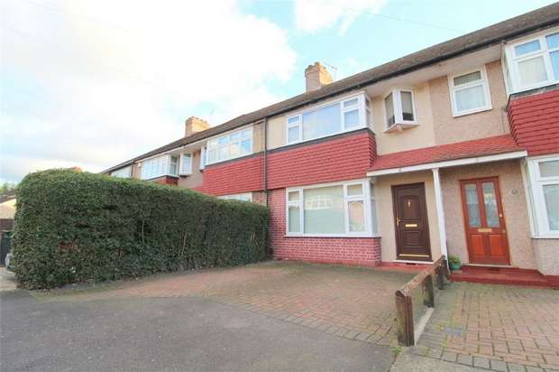 4 Bedrooms Terraced House for sale in Rosa Avenue, Ashford, Middlesex