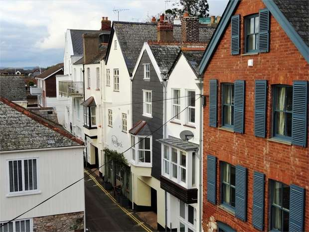 2 Bedrooms Terraced House for sale in Fore Street, Topsham, EXETER, Devon