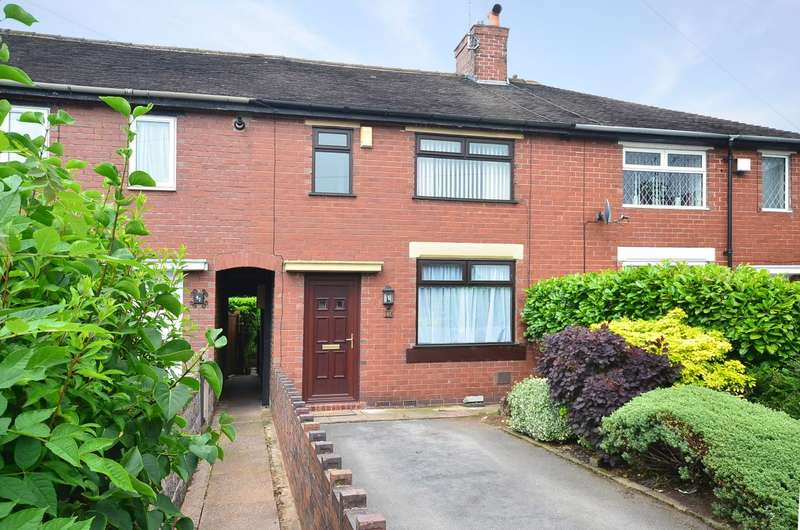 2 Bedrooms Terraced House for rent in George Avenue, Meir, Stoke-on-Trent, ST3 6DQ