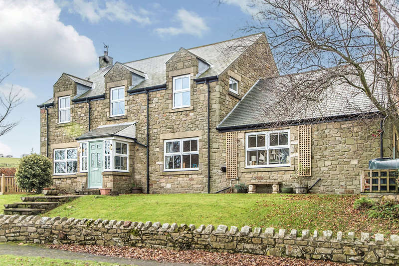 4 Bedrooms Detached House for sale in Castle Meadow, Whittingham, Alnwick, NE66